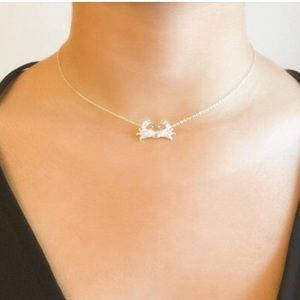 ef204ca1f Jewelry - ✨ 925 Sterling Silver Silver Crab Charm Necklace✨